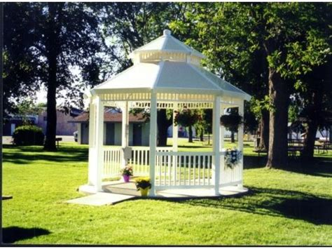 gazebo pvc pvc gazebo home and garden design idea s landscapes