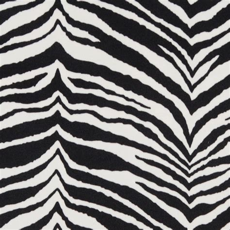 black and white upholstery fabric by the yard black and white zebra microfiber stain resistant