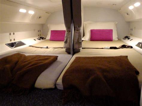secret airplane bedrooms for flight attendants business