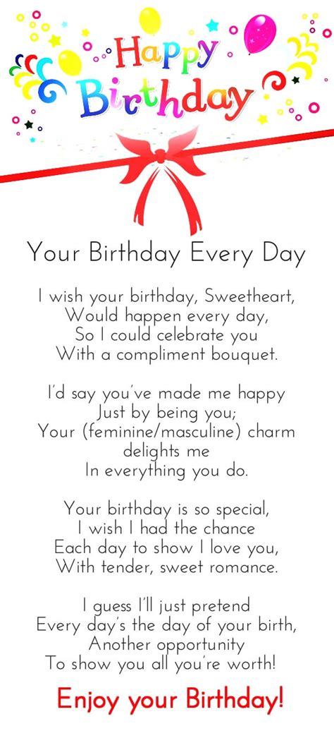 for your birthday 12 happy birthday poems for him with images