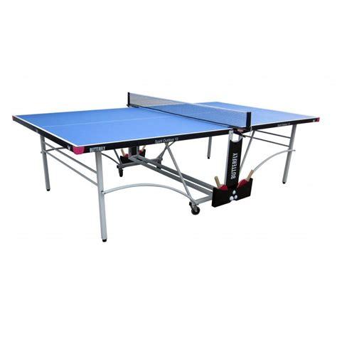 butterfly outdoor rollaway table tennis butterfly spirit 10 rollaway outdoor table tennis table