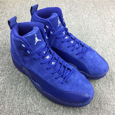 royal blue suede air 12 royal blue suede release info justfreshkicks