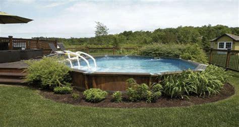 deco piscine hors sol 4140 id 233 es am 233 nagement autour piscine