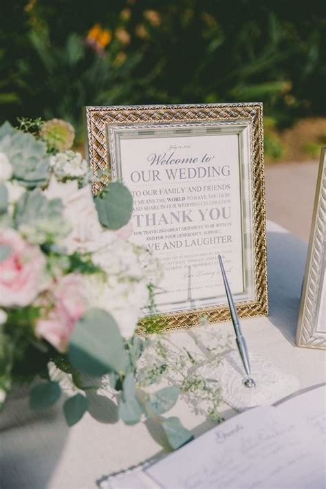 wedding guest book table 15 trending wedding guest book sign in table decoration