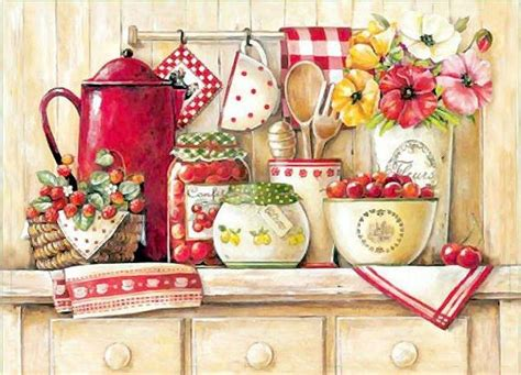 Decoupage Kitchen -
