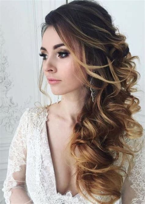 hairstyles side curls 34 elegant side swept hairstyles you should try