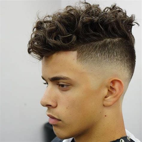 perm for men longer in front a little shorter on sides 17 best ideas about medium skin fade on pinterest