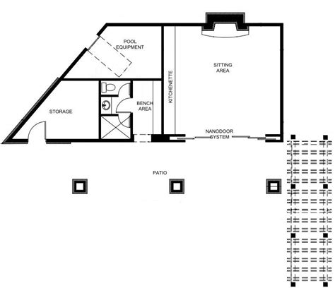 pool house floor plan robert g mcarthur