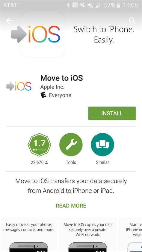 how to transfer apps from android to iphone how to move your photos contacts and more from android to and iphone imore