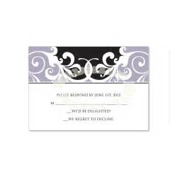 Pin free printable wedding rsvp card template on pinterest