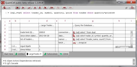 Java Spreadsheet by Quantcell Feature