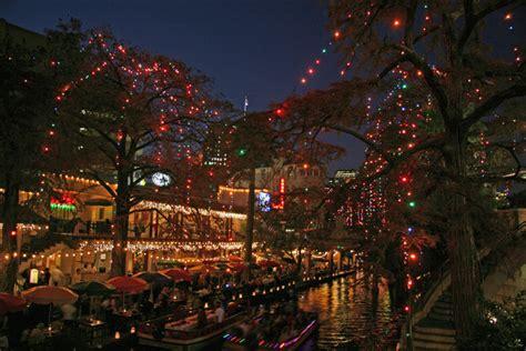 Christmas Time At San San Antonio Riverwalk by