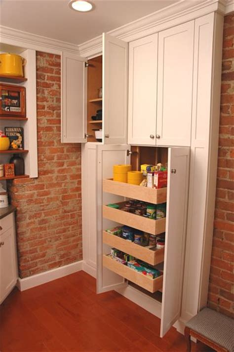 Kitchen Pantry Inserts by Project Spotlight Renovated Galley Style Kitchen In A
