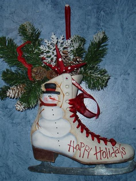 17 best ideas about painted ice skates on pinterest xmas
