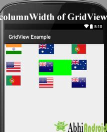android tutorials for beginners android gridview exle gridview tutorial with exles in android studio
