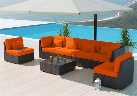 pvc wicker patio furniture wicker vs plastic wicker patio furniture information outsidemodern