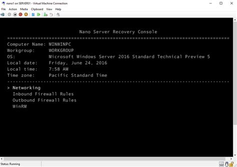 microsoft windows recovery console 10 best new features in windows server 2016