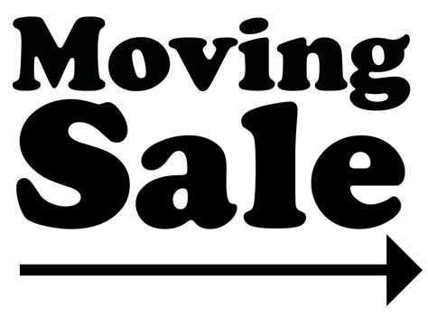 Moving Sale At Makeupcom by 5 Tips For Selling Your Stuff