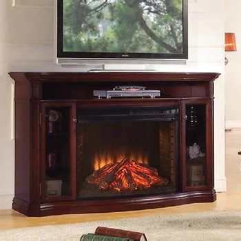 Fireplace Console Costco by Muskoka 174 Laurel Electric Fireplace And Media Console