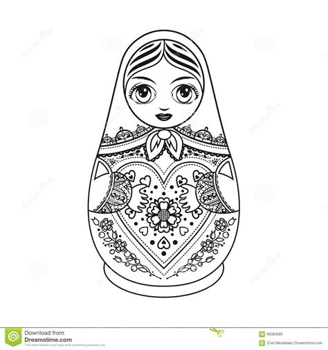 russian boy coloring page russian boy puppet coloring pages