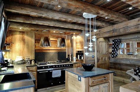 magnificent chalet   swiss alps kitchen design