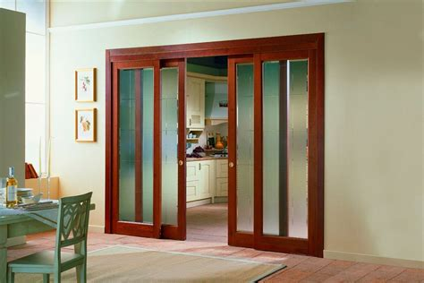 Sliding Kitchen Doors Interior Introducing Sliding Interior Doors For Japanese Touch