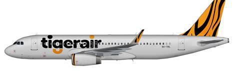 Mandala Tiger Air Diecast Miniatur Airbus A320 gifsa tigerair mandala repaint