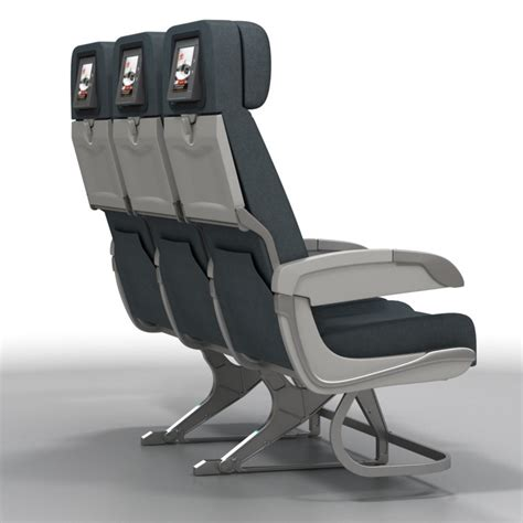 Airplane Chair by Airline Chairs 3d Model