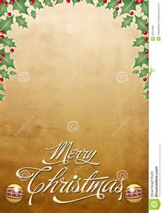 Congratulation Poster Beautiful Christmas Card Poster Royalty Free Stock Photo Image 22029395