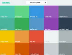 website colors flat ui colors best web design tools