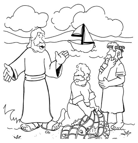 jesus calling disciples clipart clipart suggest