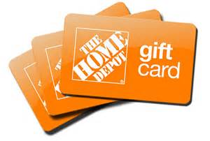 home depot gift cards 424 61 home depot gift card merchandise credit no exp no