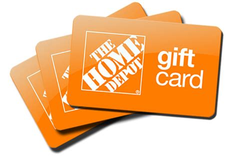 424 61 home depot gift card merchandise credit no exp no