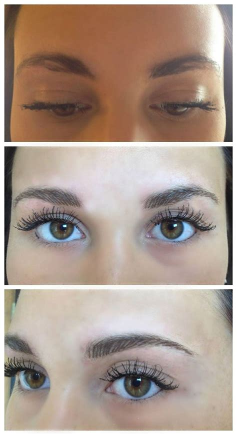 feather touch eyebrow tattoo feather touch brow at aura cosmetic studio