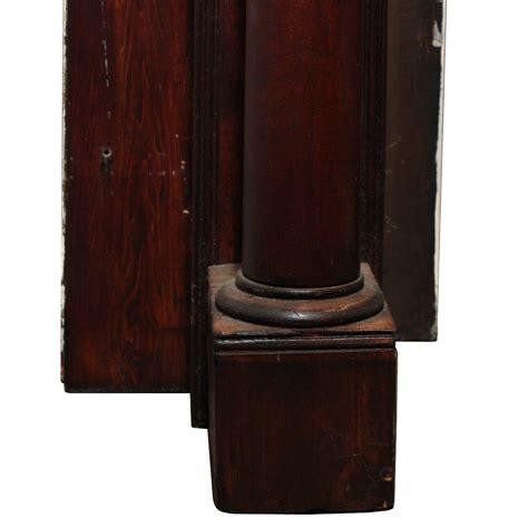 Ori Mantel stunning antique mantel ionic columns c 1910 nfpm51 rw