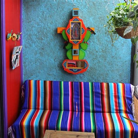 mexican home decorations mexican decoration colors serape mexicandecoration