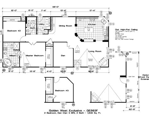 golden west homes floor plans golden west exclusive floorplans 5starhomes manufactured homes