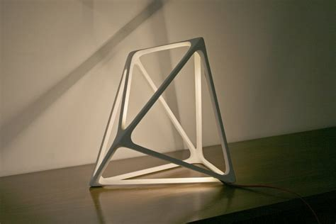 Led Bathroom Lighting Ideas by Cool Lamp In Geometric Sculptural Design Molecula Home