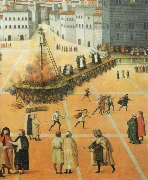 Bonfire Of The Vanities Savonarola by Four 689 Savonarola Wsource