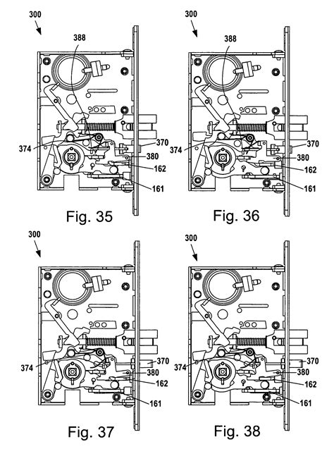 baldwin mortise lock diagram brevet us8292336 mortise lock assembly brevete