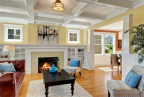 craftsman style homes interiors craftsman bungalow interiors craftsman style indoors