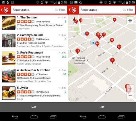 yelp app android 16 best apps for your android phone that will make your everyday simpler