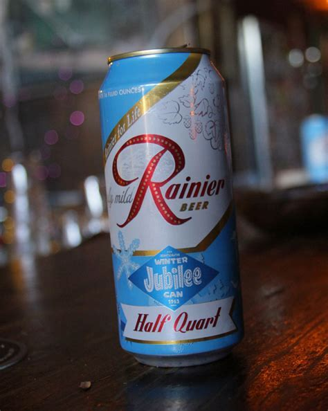 Rainier Beer: 1963 Jubilee Series Limited Edition ? The