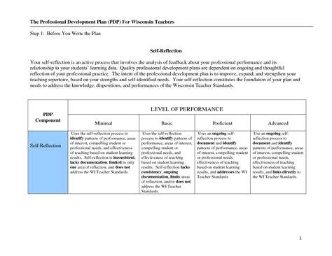 Best Photos Of Professional Development Template Sles Professional Development Plan Individual Professional Development Plan For Teachers Template