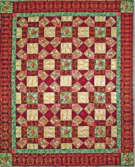 Kaufman Fabrics Free Quilt Patterns by La Scala Quilt Free Pattern Robert Kaufman Fabric Company