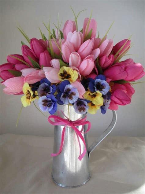spring flower arrangements spring floral arrangement spring decor pinterest