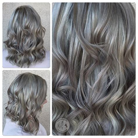 gray hair color shades a shining silver grey hair color modern salon