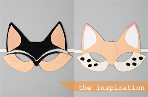 diy masks diy foxy tremen dously interested