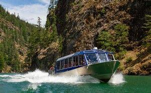 Diablo Lake Cabins by Diablo Lake Boat Tours Cascades Institute
