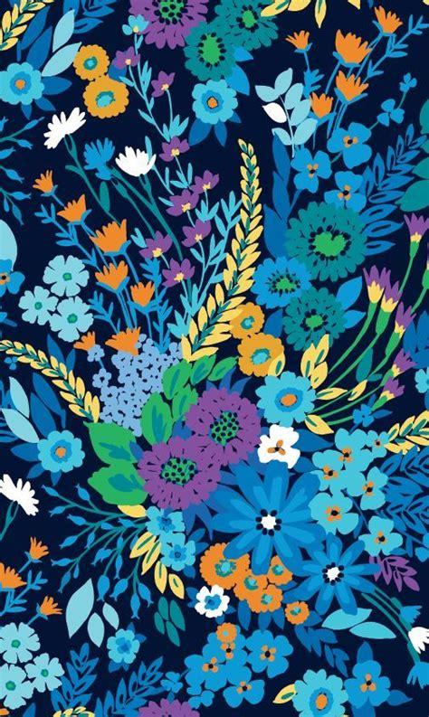 flower pattern vera bradley vera bradley midnight blues latest news pinterest